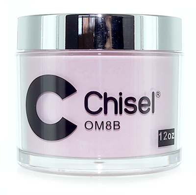 Chisel Nail Art - Dipping Powder - Pink & White Collection - OM08B