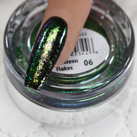 Cre8tion - Nail Art Effect - Chameleon Flakes