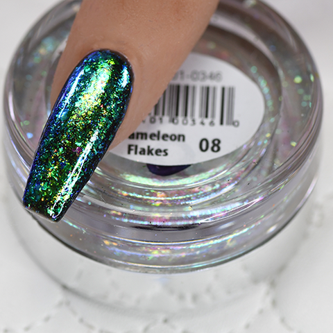 Cre8tion - Nail Art Effect - Chameleon Flakes - C08 - 0.5g