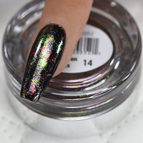 Cre8tion - Nail Art Effect - Chameleon Flakes - C14 - 0.5g