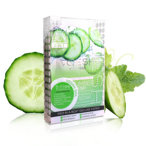 Voesh 4 step spa pedicure - Cucumber Fresh 50 pcs/case