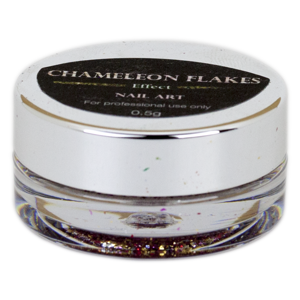 Cre8tion - Nail Art Effect - Chameleon Flakes - C12 - 0.5g