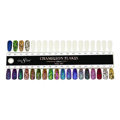 Cre8tion - Nail Art Effect - Chameleon Flakes - C11 - 0.5g