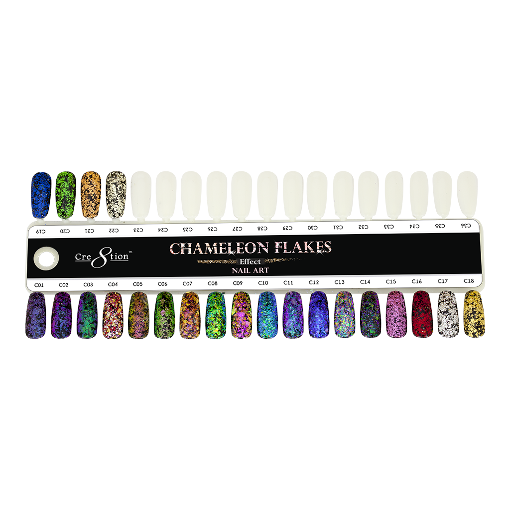 Cre8tion - Nail Art Effect - Chameleon Flakes - C16 - 0.5g