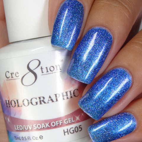 Cre8tion - Holographic Soak Off Gel .5oz HG05
