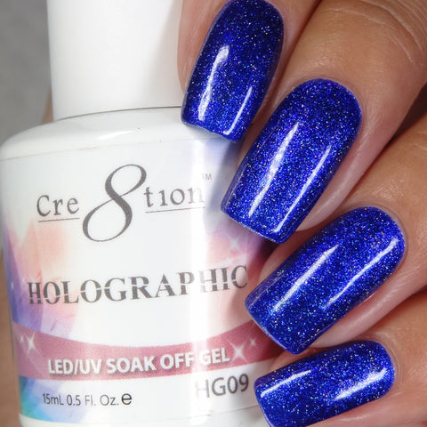Cre8tion - Holographic Soak Off Gel .5oz HG09