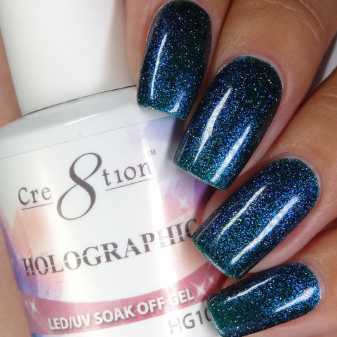 Cre8tion - Holographic Soak Off Gel .5oz HG10