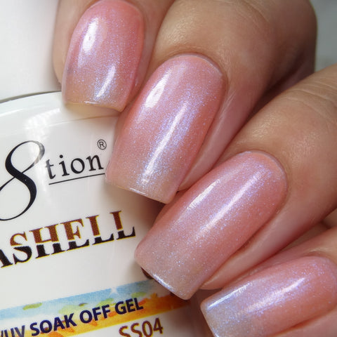 Cre8tion - Seashell Soak Off Gel .5oz SS04
