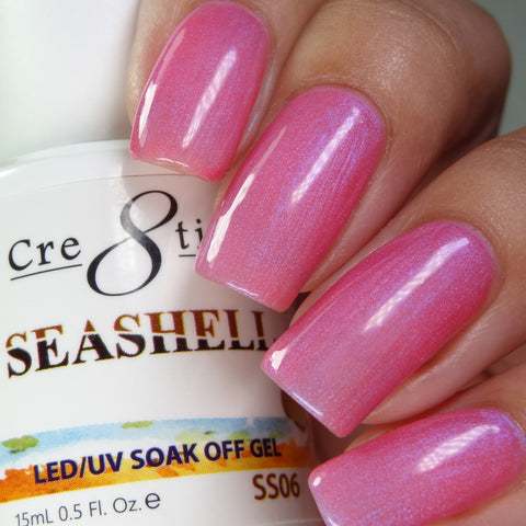 Cre8tion - Seashell Soak Off Gel .5oz SS06