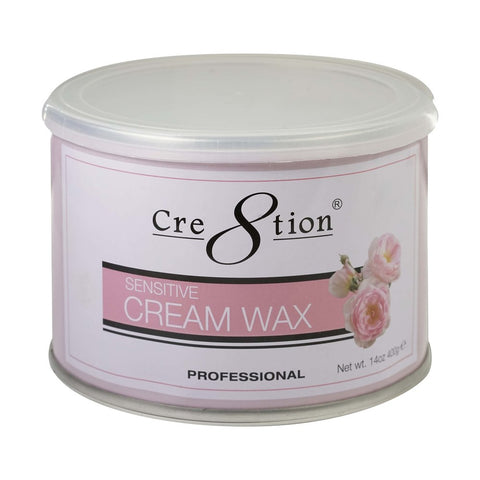 Cre8tion Cream wax 14 oz 24  pcs./case, 72 cases/pallet