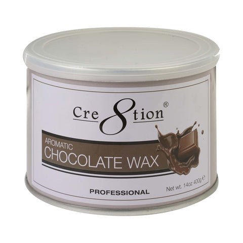 Cre8tion Chocolate wax 14 oz. 24 pcs./case, 72 cases/ pallet