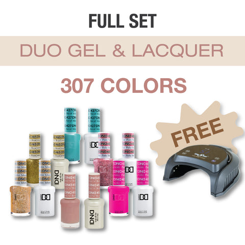 Daisy DND - Gel & Lacquer Duo Full Set 307 Colors