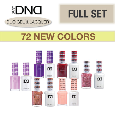Daisy DND - Gel & Lacquer Duo Full Set 72 Colors
