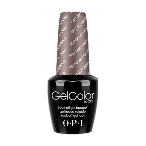 OPI Gel Colors - You Don't Know Jacques! - GC F15