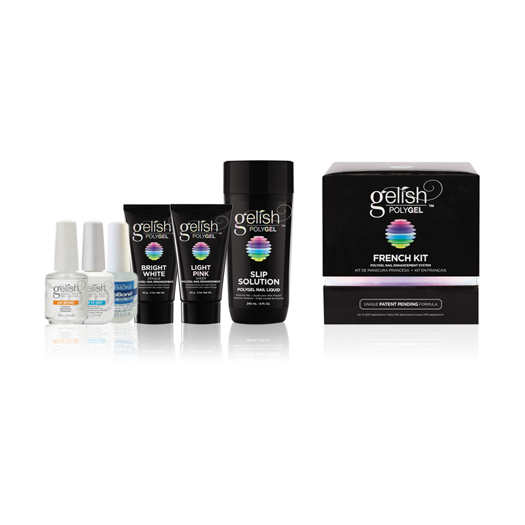 Gelish - Poly Gel French Kit