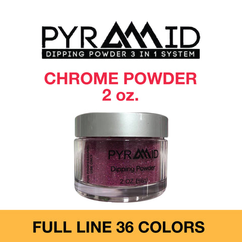 Pyramid Chrome Powder 2 oz - Full Set 36 colors