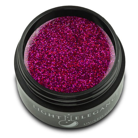 Red Rose - UV/LED Glitter Gel - 17ml