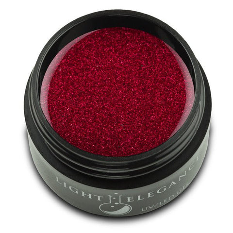 Ruby Red - UV/LED Glitter Gel - 17ml
