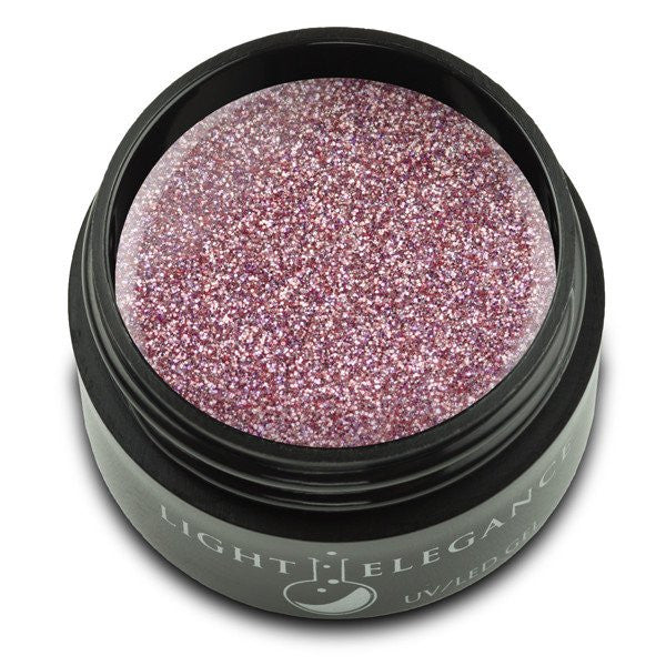 Pink Platinum - UV/LED Glitter Gel - 17ml