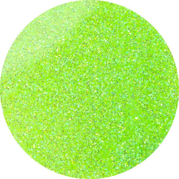 Electric Lime - UV/LED Glitter Gel - 17ml
