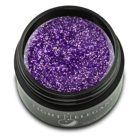 Violet - UV/LED Glitter Gel - 17ml