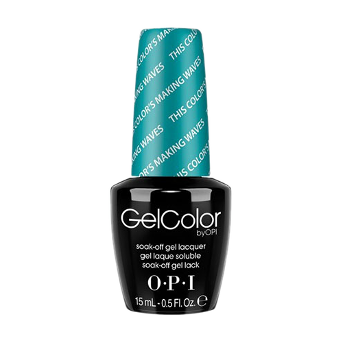 OPI Gel Colors - This Color's Making Waves (Hawaii) - GC H74