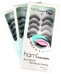 Hami Cosmetics - Eyelashes - Black #19