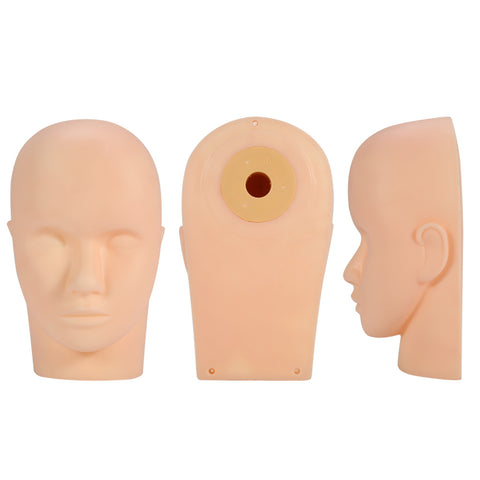 Silicone Mannequin for Eyelash Extension Practice