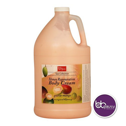 Spa Collection - Honey Regeneration Body Cream - Guava & Mango - 1 Gallon (3784.4 ml)