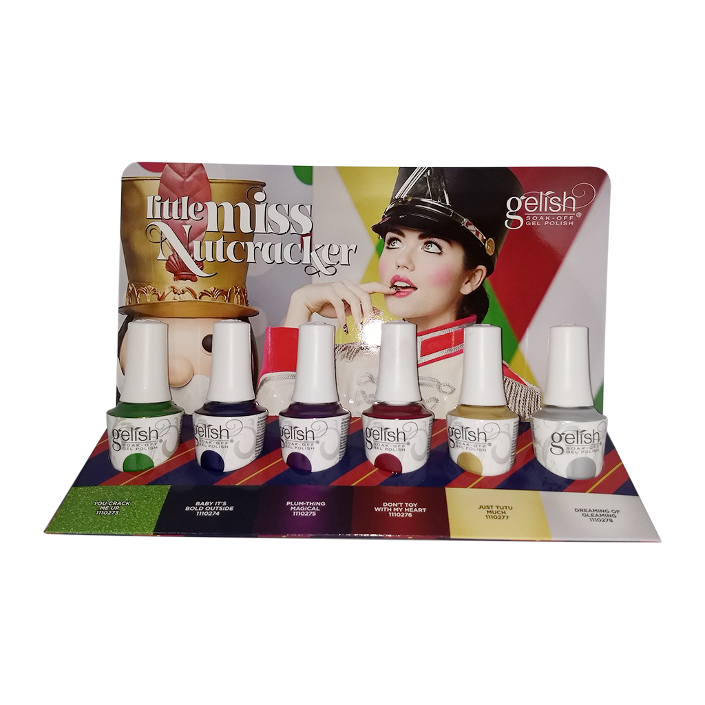 Gelish - Little Miss Nutcracker Collection - Full Set