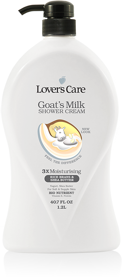 Lover's Care Goat's Milk Shower Cream