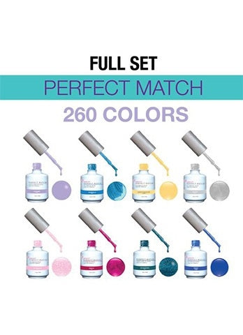 Perfect Match Soak Off Gel – Full Set 260 Colors