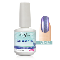 Cre8tion - Mermaid Soak Off Gel .5oz MM12