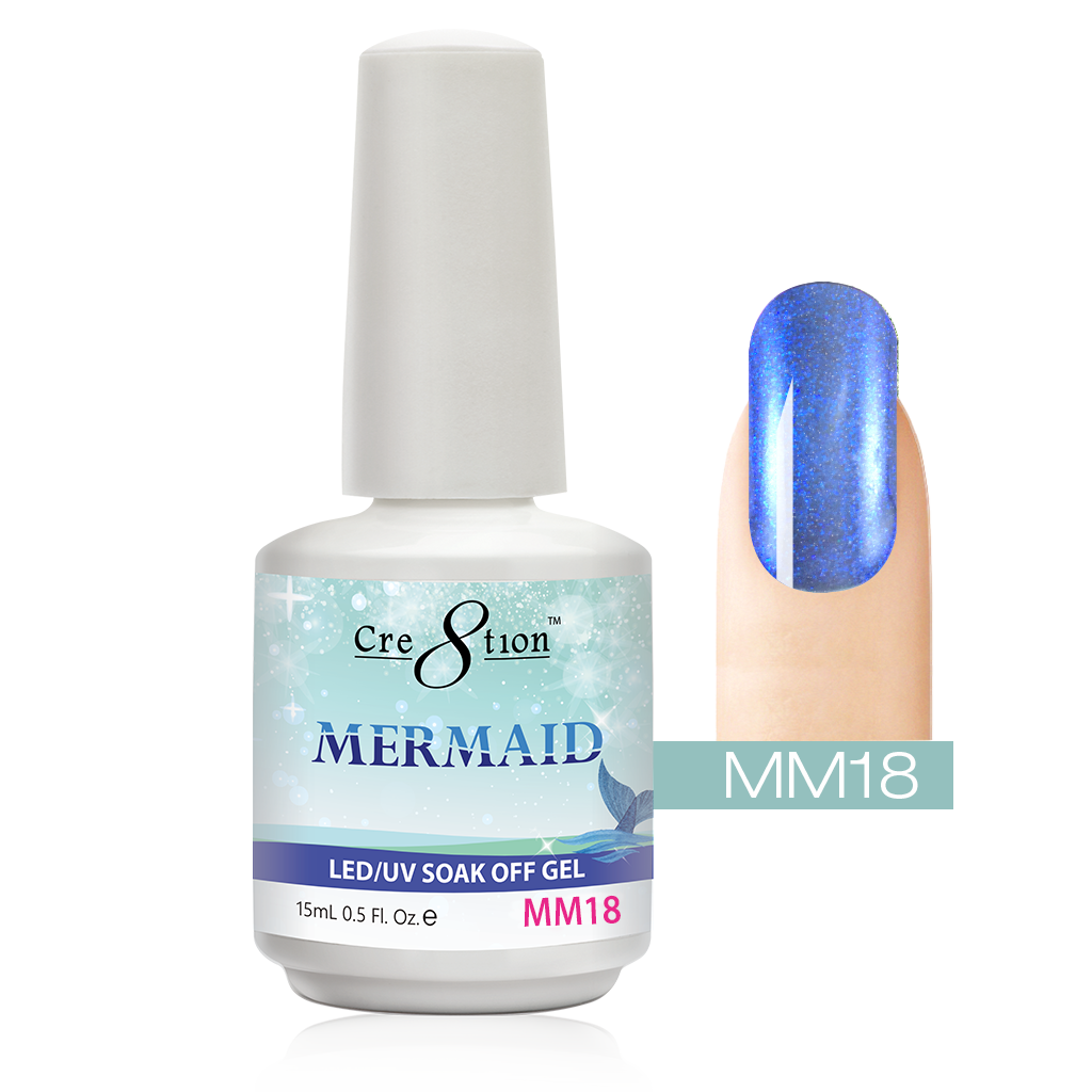 Cre8tion - Mermaid Soak Off Gel .5oz MM18