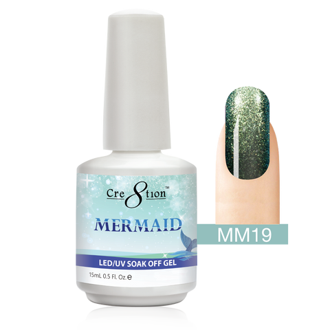 Cre8tion - Mermaid Soak Off Gel .5oz MM19