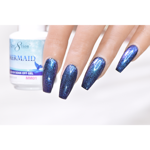 Cre8tion - Mermaid Soak Off Gel .5oz MM01