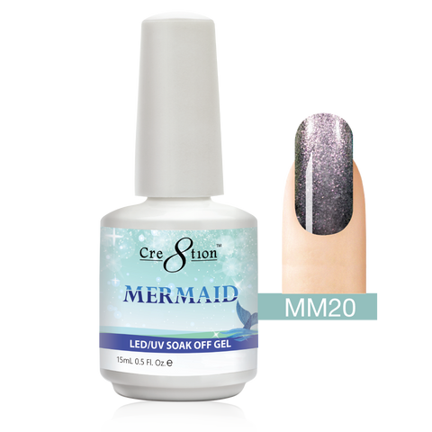 Cre8tion - Mermaid Soak Off Gel .5oz MM20