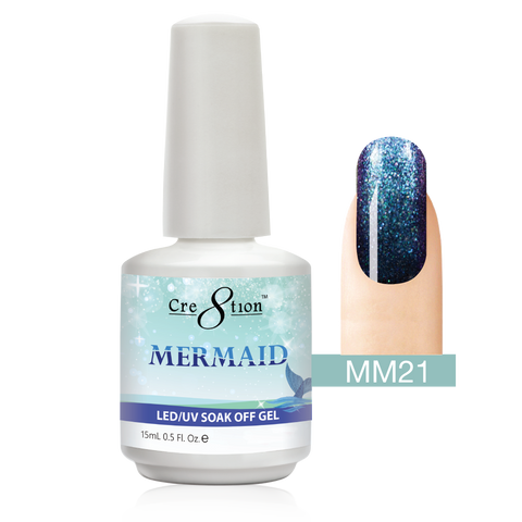 Cre8tion - Mermaid Soak Off Gel .5oz MM21