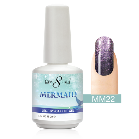 Cre8tion - Mermaid Soak Off Gel .5oz MM22