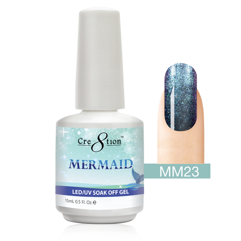 Cre8tion - Mermaid Soak Off Gel .5oz MM23