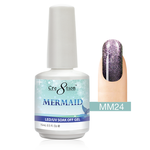 Cre8tion - Mermaid Soak Off Gel .5oz MM24