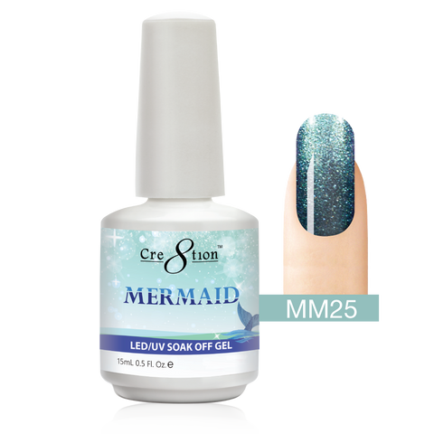 Cre8tion - Mermaid Soak Off Gel .5oz MM25