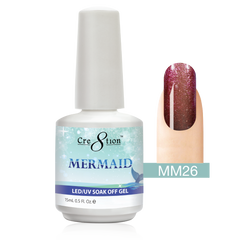 Cre8tion - Mermaid Soak Off Gel .5oz MM26