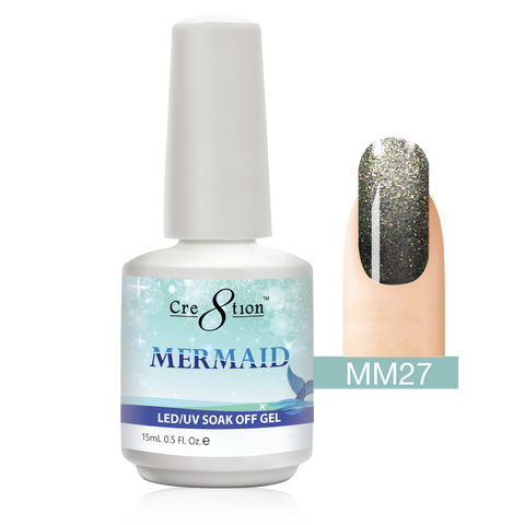 Cre8tion - Mermaid Soak Off Gel .5oz MM27