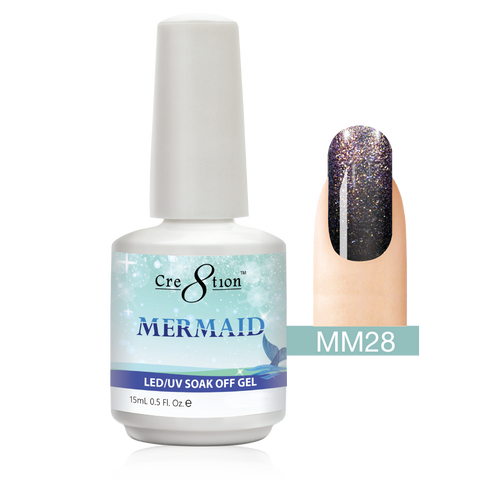 Cre8tion - Mermaid Soak Off Gel .5oz MM28