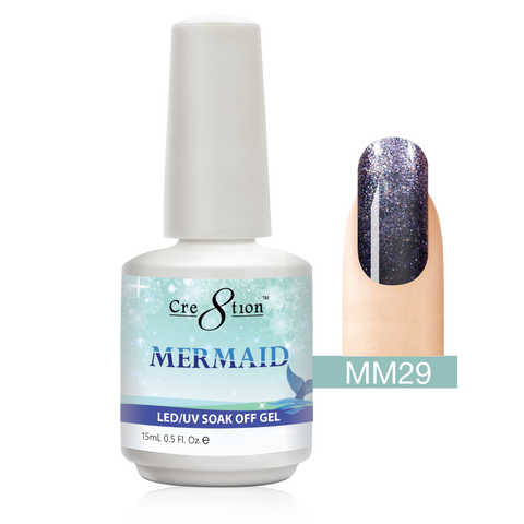Cre8tion - Mermaid Soak Off Gel .5oz MM29
