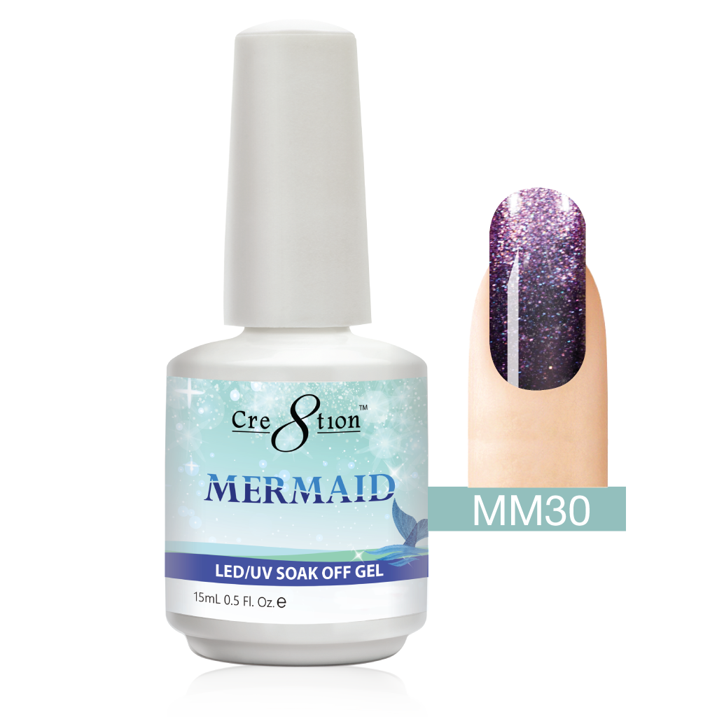 Cre8tion - Mermaid Soak Off Gel .5oz MM30