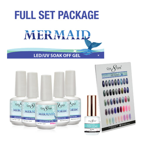 Cre8tion - Mermaid Soak Off Gel .5oz