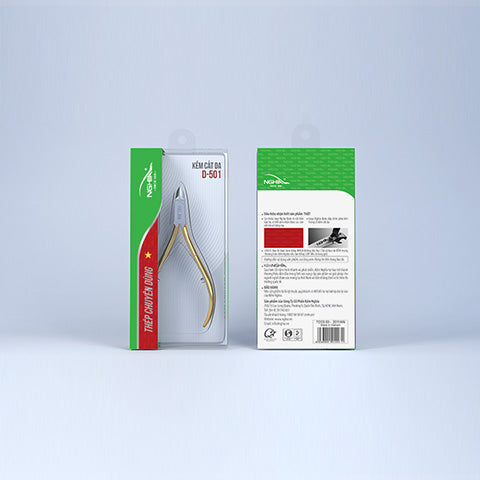 Nghia - Hard Steel Cuticle Nipper D-501