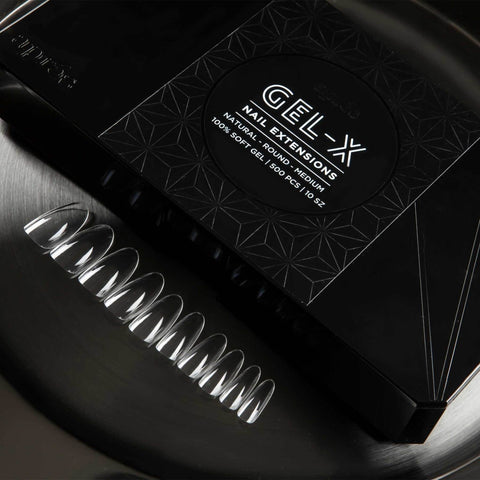 Apres Gel - X Nail Extensions Medium Round